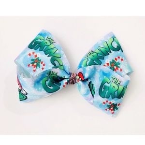 Other - Grinch hair bow
